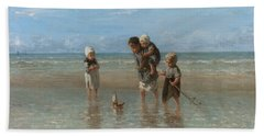 Children Of The Sea Beach Sheet
