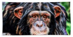 Chimpanzee Collection Beach Towel