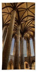 Beach Towel featuring the photograph Church Of The Jacobins Interior by Elena Elisseeva