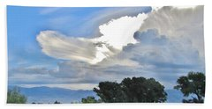 Clouds Beach Sheet by Marilyn Diaz