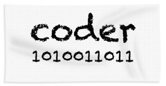 Coder Beach Towel