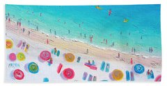 Colors Of The Beach Beach Towel by Jan Matson