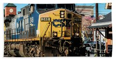 Csx Engine Gaithersburg Maryland Beach Towel