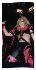 Dee Snider Of Twisted Sister Beach Sheet