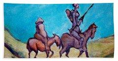 Don Quixote  Beach Towel