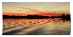 Doug Hobson, Red Rock Lake Beach Towel