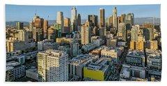 Downtown Los Angeles Beach Towel