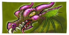 Dragon Beach Towel by Kevin Middleton