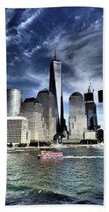 Dramatic New York City Beach Towel