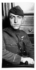 Beach Towel featuring the photograph Eddie Rickenbacker by War Is Hell Store