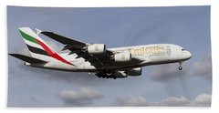 Emirates A380 Airbus Beach Sheet