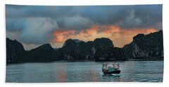 End Of Day Vietnam  Beach Towel by Chuck Kuhn