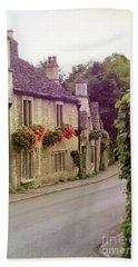 English Village Beach Sheet by Jill Battaglia