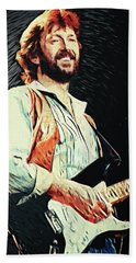 Eric Clapton Beach Towel