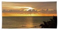 Evening Shadows Beach Sheet