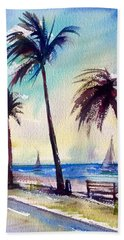 Evening Solitude Beach Towel