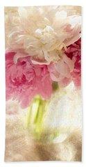 Floral Beach Towel by George Robinson