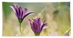Flower On Summer Meadow Beach Towel