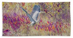 Fly Fly Away Beach Towel
