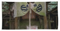 Forrest Shrine, Japan Beach Towel