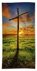 Beach Towel featuring the photograph Good Friday by Phil Koch