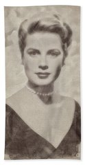 Grace Kelly, Actress And Princess Beach Towel