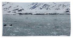 Beach Towel featuring the photograph Icy Wonderland by Brandy Little
