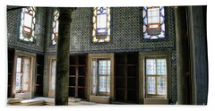 Beach Towel featuring the photograph Inside The Harem Of The Topkapi Palace by Patricia Hofmeester
