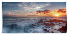 Into The Mystic Beach Towel by James Roemmling