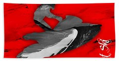 Jet Ski Collection Beach Towel by Marvin Blaine