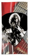 Jimmy Page Art Beach Towel