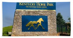 Kentucky Horse Park Beach Towel