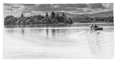 Lake Of Menteith Beach Towel