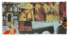 Led Zeppelin Art Beach Towel