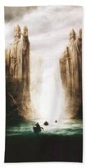 Lord Of The Rings The Fellowship Of The Ring 2001  Beach Towel