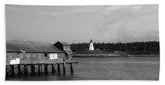 Lubec, Maine Beach Towel