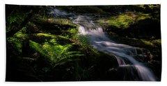 Lynn Mill Waterfalls Beach Towel