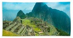 Machu Picchu  Beach Towel