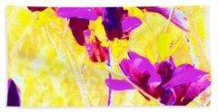 Magnolia Blossoms Beach Sheet