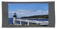 Marshall Point Lighthouse Beach Sheet