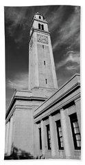 Memorial Tower - Lsu Bw Beach Towel