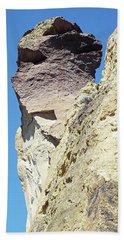Monkey Face Rock - Smith Rock National Park Beach Towel