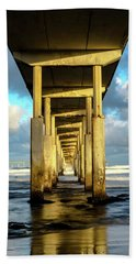 Morning Reflections Beach Towel by Joseph S Giacalone