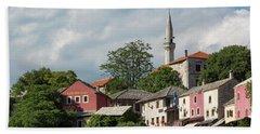 Mostar, Bosnia And Herzegovina Beach Towel