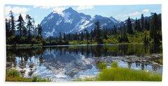 Mount Shuksan Reflection Beach Sheet