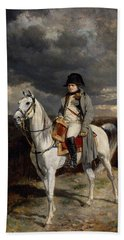 Napoleon Bonaparte On Horseback Beach Towel