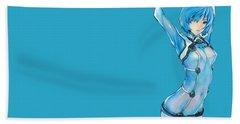 Neon Genesis Evangelion Beach Towel