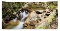New England Waterfall Beach Towel