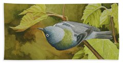 Northern Parula Beach Towel