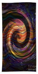 Novino Golden Shades Dramatic Waves Abstract Graphic Artwork By Navinjoshi  Buy Posters Greetings Pi Beach Towel by Navin Joshi